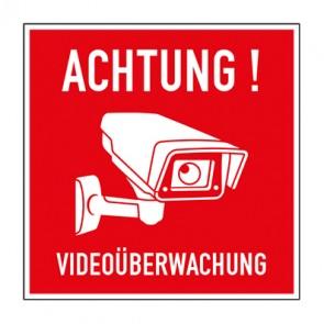Schild Videoüberwachung TYP 45