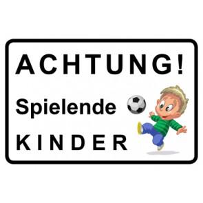 Schild Achtung Spielende Kinder | Mod. 5