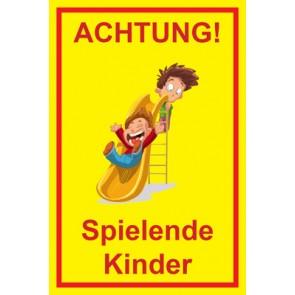 Schild Achtung Spielende Kinder | Mod. 103