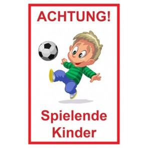 Schild Achtung Spielende Kinder | Mod. 107