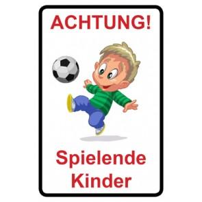 Schild Achtung Spielende Kinder | Mod. 111