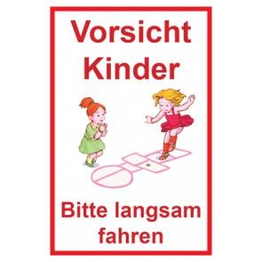 Aufkleber Achtung Spielende Kinder | Mod. 113