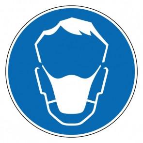 Gebotszeichen Mund- und Nasenschutz benutzen · Magnetschild - Magnetfolie