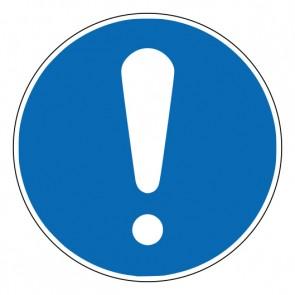 Aufkleber Gebotszeichen Allgemeines Gebotszeichen · ISO 7010 M001