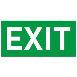 Schild Rettungszeichen EXIT