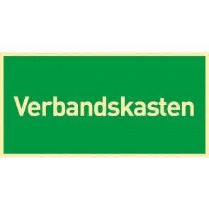 Schild Rettungszeichen Verbandskasten · NACHLEUCHTEND