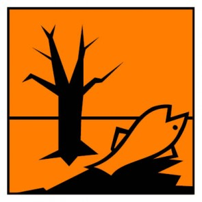 Aufkleber Gefahrstoffzeichen umweltgefährlich Hazard_N