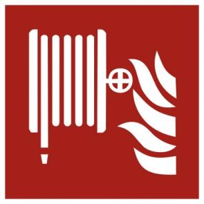 Aufkleber Brandschutzzeichen Löschschlauch
