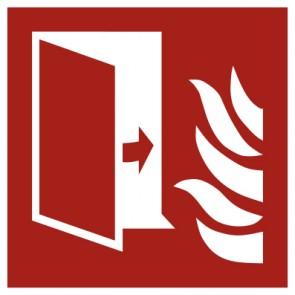 Aufkleber Brandschutzzeichen Brandschutztür