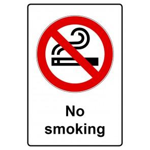 Verbotsschild | Verbotszeichen Schild · No smoking