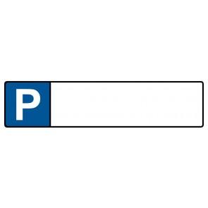 Kennzeichenschild zum selbst Beschriften · MAGNETSCHILD (Magnetfolie)