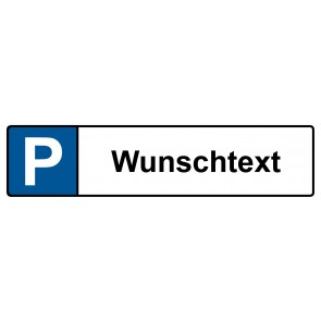 Kennzeichenschild Wunschtext · MAGNETSCHILD (Magnetfolie)