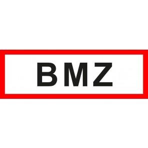 Aufkleber Feuerwehrzeichen BMZ