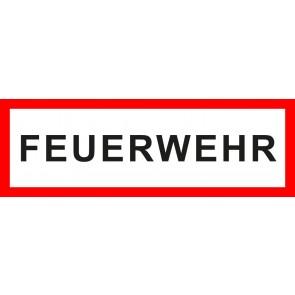 Aufkleber Feuerwehrzeichen FEUERWEHR