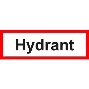 Aufkleber Feuerwehrzeichen Hydrant
