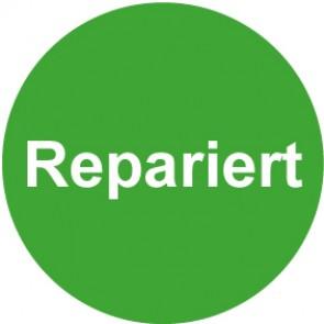 QS Aufkleber Repariert · grün