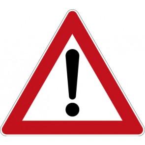 Verkehrzeichen Gefahrzeichen Gefahrstelle · Zeichen 101  · MAGNETSCHILD