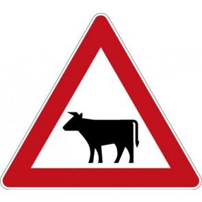 Verkehrzeichen Gefahrzeichen Viehtrieb · Zeichen 101-12  · MAGNETSCHILD