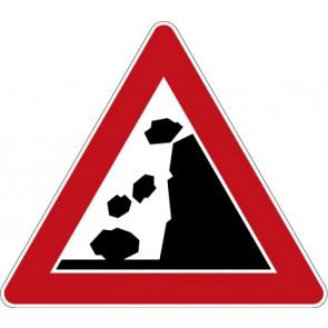 Verkehrzeichen Gefahrzeichen Steinschlag · Zeichen 101-15  · MAGNETSCHILD
