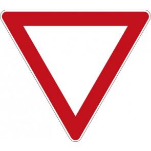 Aufkleber Vorschriftzeichen Vorfahrt gewähren! · Zeichen 205
