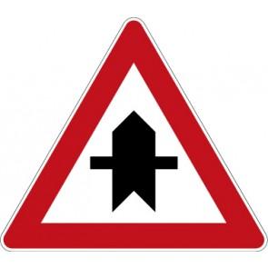 Aufkleber Richtzeichen Vorfahrt · Zeichen 301