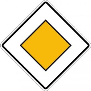 Schild Richtzeichen Vorfahrtstraße · Zeichen 306