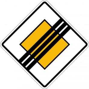 Schild Richtzeichen Ende der Vorfahrtstraße · Zeichen 307