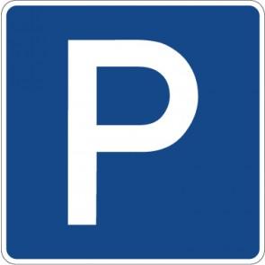Schild Richtzeichen Parken · Zeichen 314