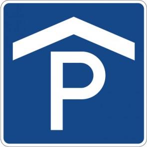 Aufkleber Richtzeichen Parkhaus, Parkgarage · Zeichen 314-50