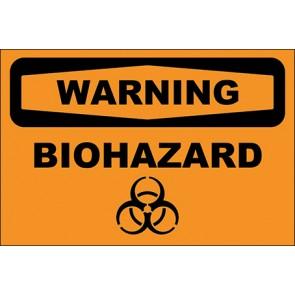 Magnetschild Biohazard · Warning