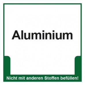 Magnetschild Mülltrennung Umweltschutz Aluminium